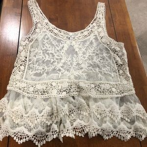 Lace Express Tank- New WITHOUT Tags